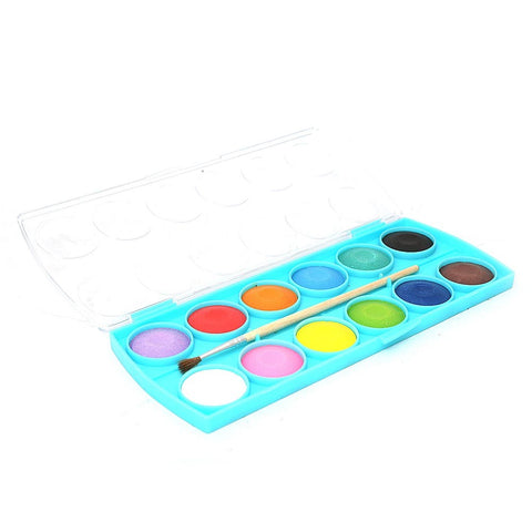 Watercolor 12 Pcs Set - Multi - test-store-for-chase-value