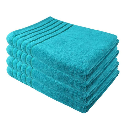 Eminent Velour Bath Towel 70x140 - Sea Green - test-store-for-chase-value