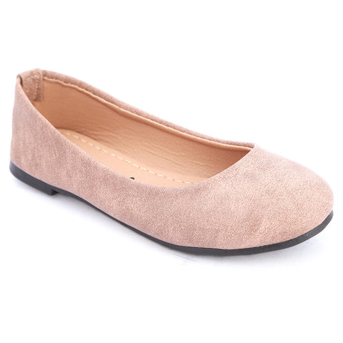 Girls Fancy Pumps  (1718) - Fawn