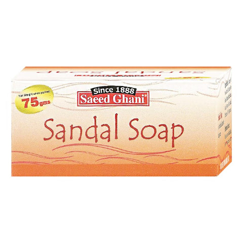 Saeed Ghani Sandal Soap 75gm - test-store-for-chase-value