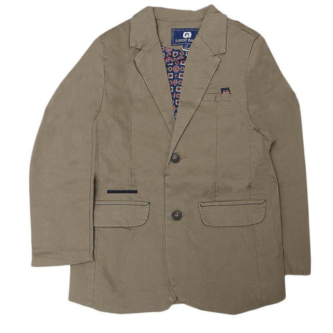 Boys Casual Coat - Olive - test-store-for-chase-value