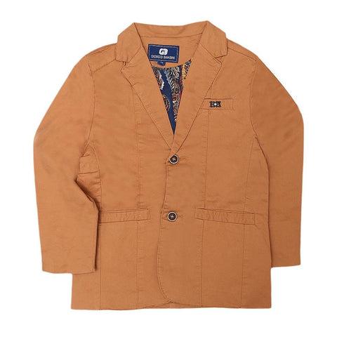 Boys Casual Coat - Camel - test-store-for-chase-value