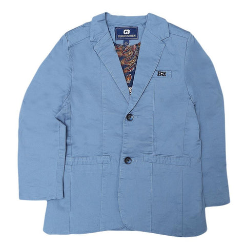 Boys Casual Coat - Blue - test-store-for-chase-value