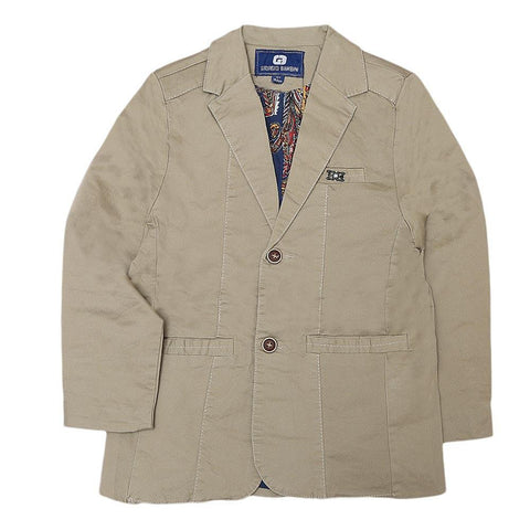 Boys Casual Coat - Beige - test-store-for-chase-value