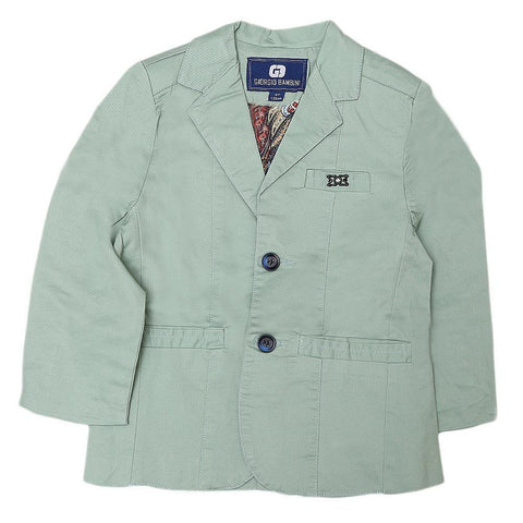 Boys Casual Coat - Sea Green - test-store-for-chase-value