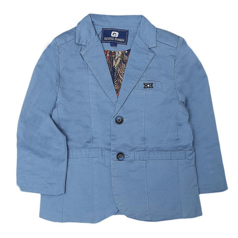 Boys Casual Coat - Sky Blue - test-store-for-chase-value