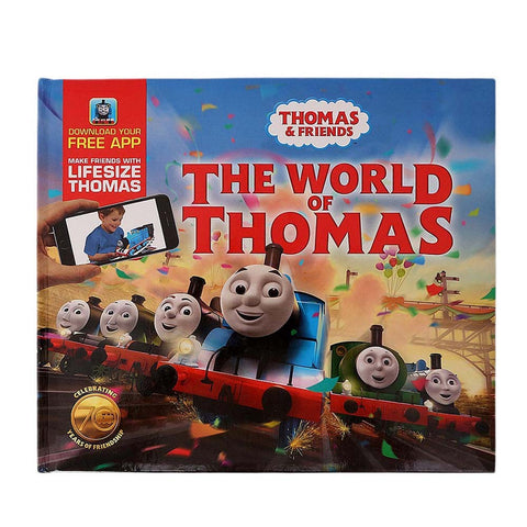 The World of Thomas Book For Kids - test-store-for-chase-value