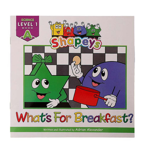 Shapeys Science Level 1 A Book For Kids - test-store-for-chase-value