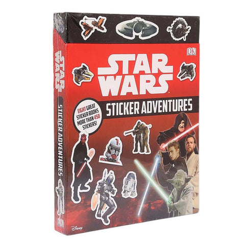 Disney Star Wars 8 Stickers Book With More Than 450 Sickers For Kids - test-store-for-chase-value