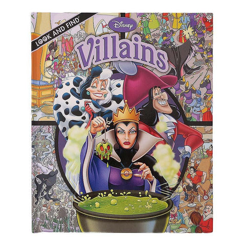 Disney Villains Look and Find Book For Kids - test-store-for-chase-value