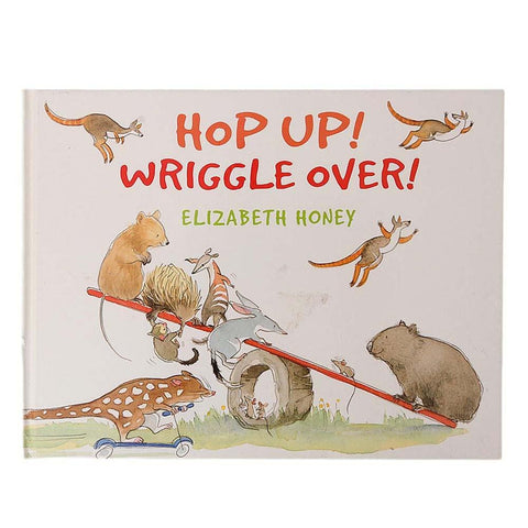 Hop Up! Wriggle Over! Book For Kids - test-store-for-chase-value