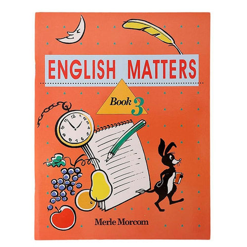 English Matters Book 3 Book For Kids - test-store-for-chase-value