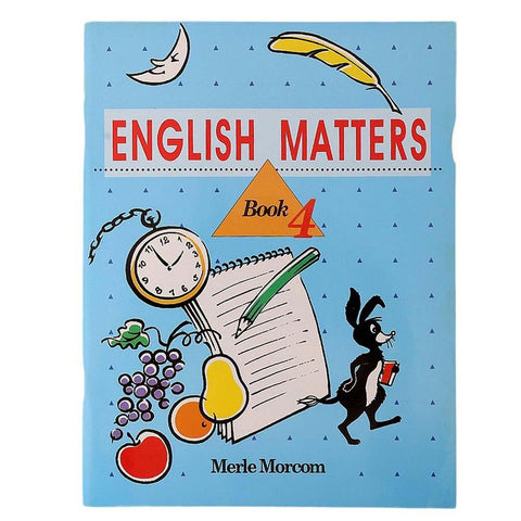 English Matters Book 4 Book For Kids - test-store-for-chase-value