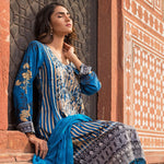 Wijdan Rang Jee Digital Embroidered Unstitched 3 Piece Viscose Suit - 09 - test-store-for-chase-value
