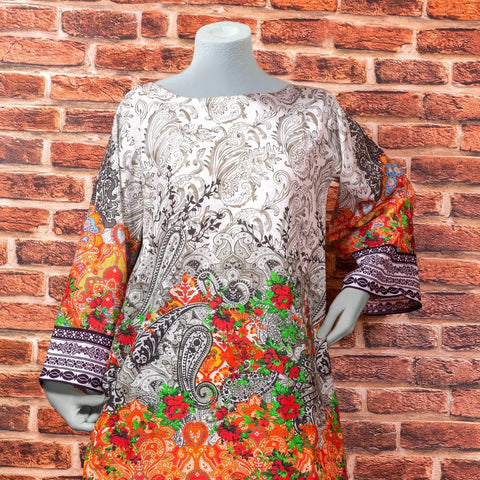 Eminent Digital Printed Khaddar Unstitched Winter Kurti - Misty - test-store-for-chase-value