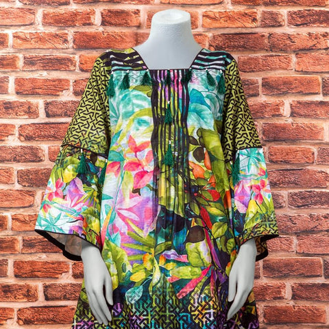 Eminent Digital Printed Khaddar Unstitched Winter Kurti - Tropical - test-store-for-chase-value