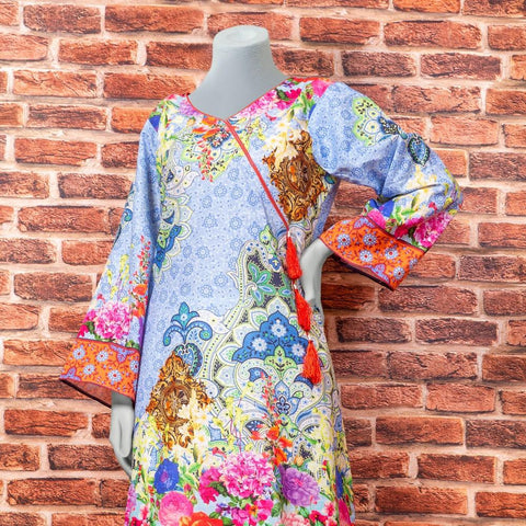 Eminent Digital Printed Khaddar Unstitched Winter Kurti - Arch - test-store-for-chase-value