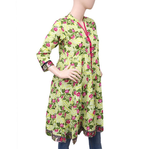 Women's Printed Cotton Kurti - Multi - test-store-for-chase-value