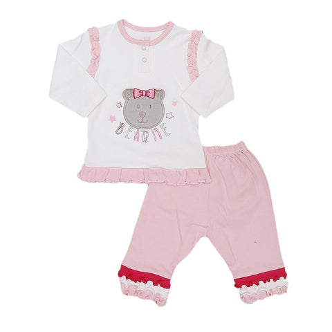 Eminent Newborn Girls 2 Piece Suit - Light Pink - test-store-for-chase-value