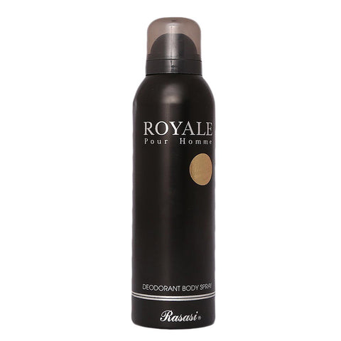 Rasasi Royale Pour Homme Body Spray For Men - 200ml - test-store-for-chase-value