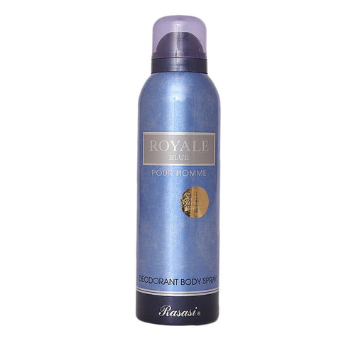 Rasasi Royale Blue Pour Homme Body Spray For Men - 200ml - test-store-for-chase-value