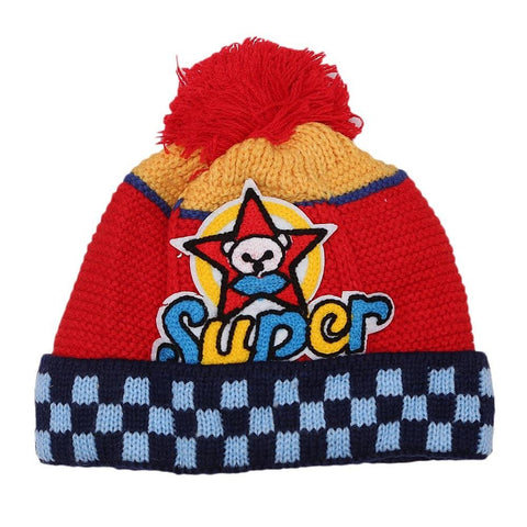 Boys Woolen Cap - Red - test-store-for-chase-value