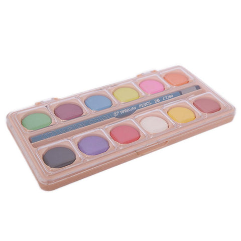 Watercolor 12 Color Set - Multi - test-store-for-chase-value