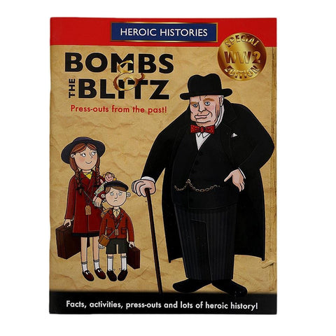 Bombs & the Blitz Book for Kids - test-store-for-chase-value