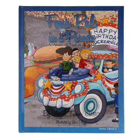 Four Pals in a Parade Book for Kids - test-store-for-chase-value