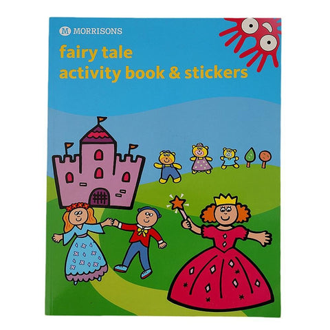 Morrisons Fairy Tale Activity Book & Stickers for Kids - test-store-for-chase-value