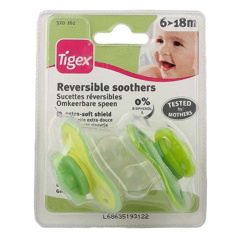 Tigex REVERSIBLE soother - Green - test-store-for-chase-value