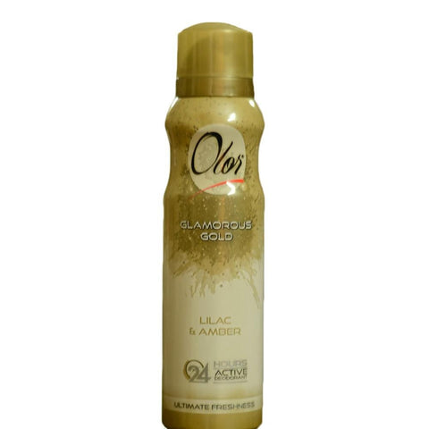 Olor Glamorous Gold Body Spray For Women - 150ml - test-store-for-chase-value