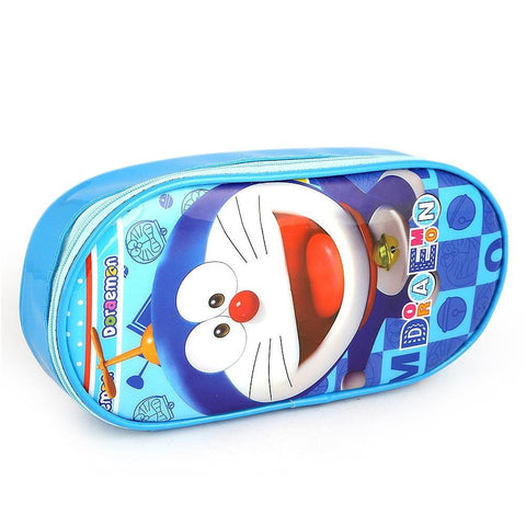 Doraemon Pencil Pouch - Blue - test-store-for-chase-value