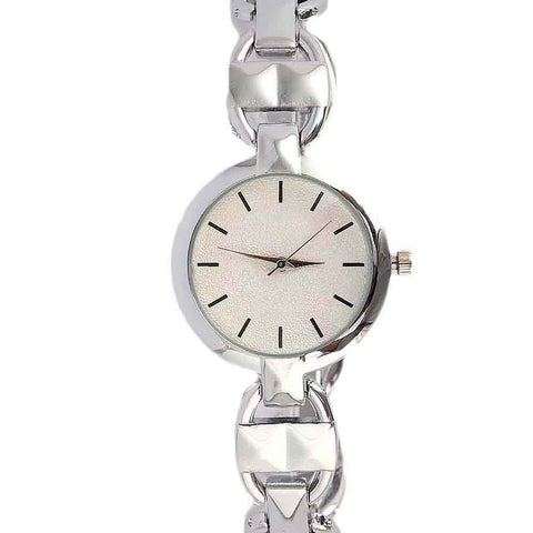 Women's Fancy Wrist Watch - Silver