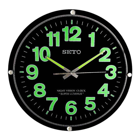 Analog Wall Clock 1005 - Black - test-store-for-chase-value