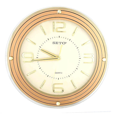 Analog Wall Clock 1008 - Copper & Fawn - test-store-for-chase-value