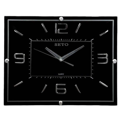 Analog Wall Clock 1007 - Black - test-store-for-chase-value