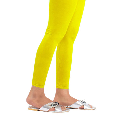 "Women's Plain Tights 48"" - Yellow - test-store-for-chase-value"