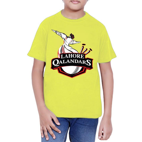 Lahore Qalandars T-Shirt For Boys - Green - test-store-for-chase-value