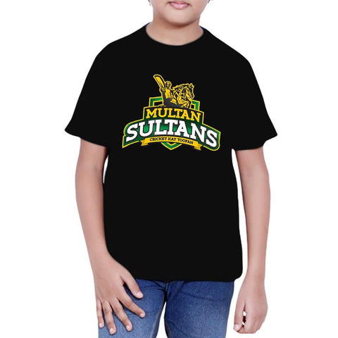 Multan Sultan T-Shirt For Boys - Black - test-store-for-chase-value