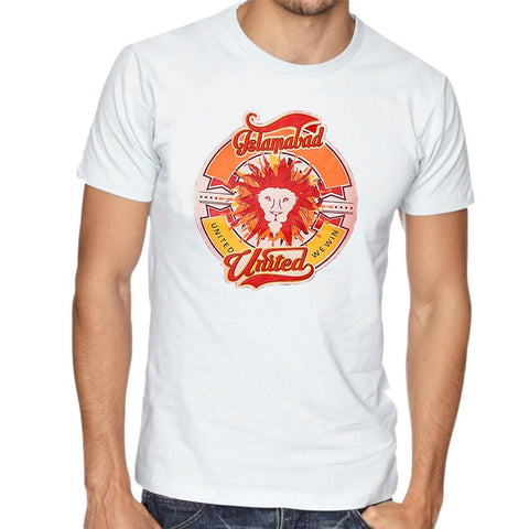 Islamabad United T-Shirt For Men - White - test-store-for-chase-value