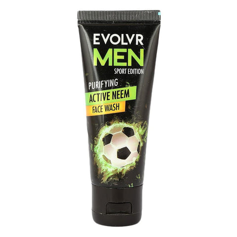 Evolvr Men Purifing Active Neem Face Wash - 60ml - test-store-for-chase-value