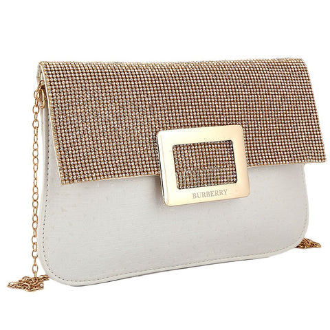 Women's Fancy Clutch 6560 - Off White - test-store-for-chase-value