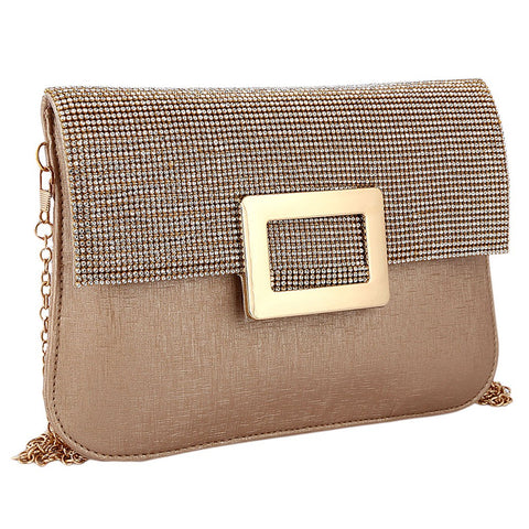 Women's Fancy Clutch 6560 - Peach - test-store-for-chase-value