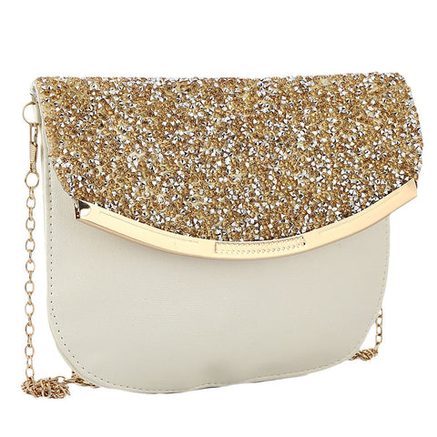 Women's Fancy Clutch 6717 - Off White - test-store-for-chase-value