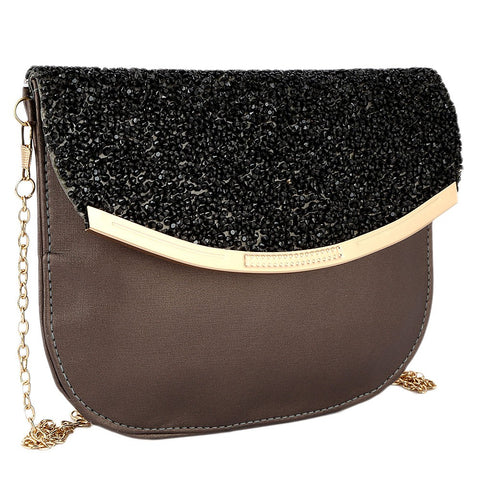 Women's Fancy Clutch 6717 - Coffee - test-store-for-chase-value