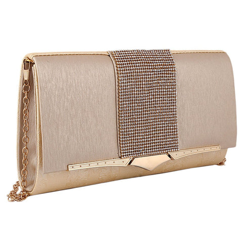 Women's Fancy Clutch 6700 - Golden - test-store-for-chase-value
