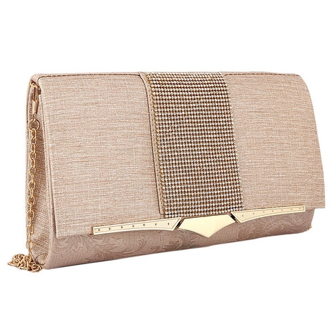 Women's Fancy Clutch 6700 - Peach - test-store-for-chase-value