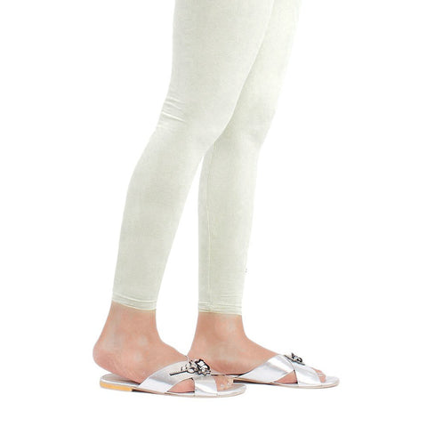 "Women's Plain Tights 48"" - White - Off White - test-store-for-chase-value"