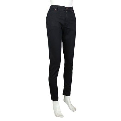 Women's Denim Pant - Black - test-store-for-chase-value